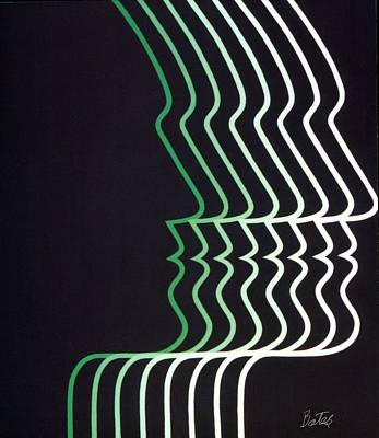 Illusion Art Print by Lisa Bates
