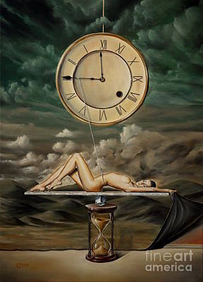 Illusion Of Time Art Print