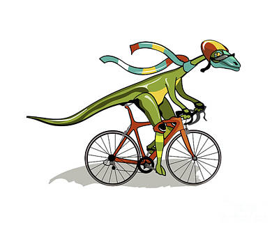 Playful Digital Art - Illustration Of An Anabisetia Dinosaur by Stocktrek Images