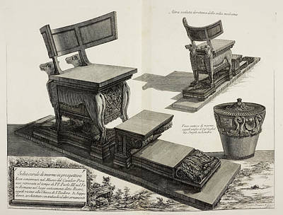 Cavs Photograph - Illustration Of Antique Furniture by British Library