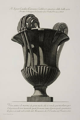 Inc Photograph - Illustration Of Classical Urn by British Library