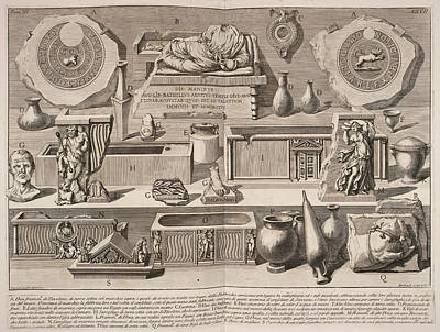 Etc. Photograph - Illustration Of Objects For Book On Ancie by British Library