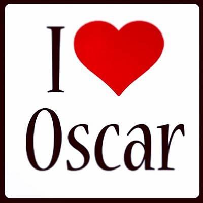 Oscars Photograph - #ilovemyname #oscar #iloveit #yay #aww by Oscar Lopez