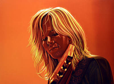 Ilse Delange Painting Print by Paul Meijering