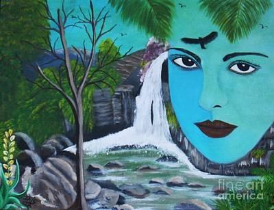 Painting - Ilusiones by Iris  Mora