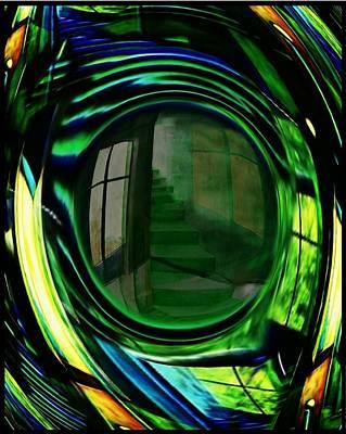Mixed Media - Im Auge Des Betrachters by Gertrude Scheffler