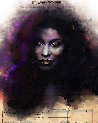 Digital Art - I'm Every Woman by Howard Barry