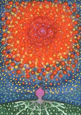 Abstract Tree Painting - I'm Leaving by Wojtek Kowalski