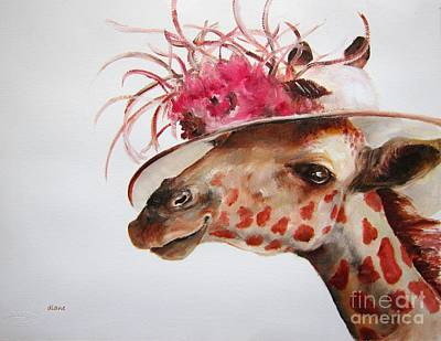 Painting - Im So Pretty by Diane Kraudelt