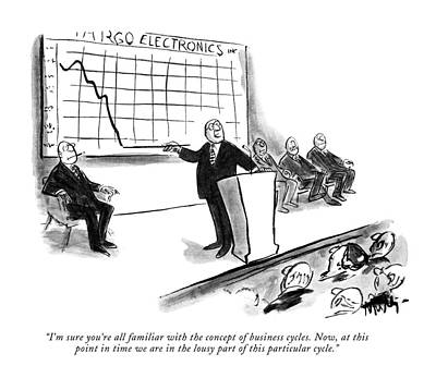 Electronics Drawing - I'm Sure You're All Familiar With The Concept by James Mulligan