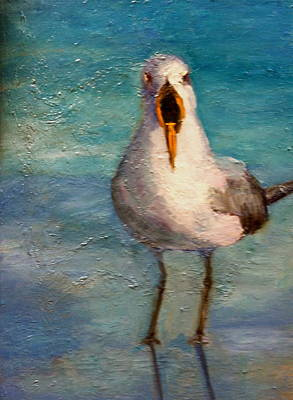 Painting - I'm The Gull by Marie Hamby