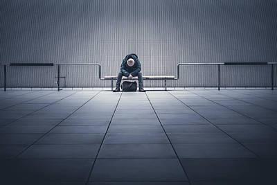 Sad Wall Art - Photograph - I'm Tired. by Yasuhiko Yarimizu