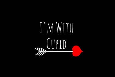 Reason Digital Art - I'm With Cupid by Chastity Hoff