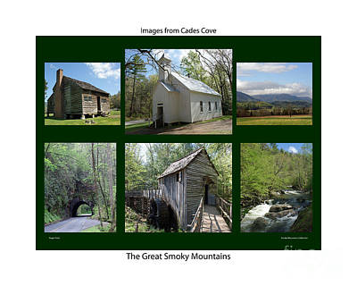Images From Cades Cove Art Print by Roger Potts