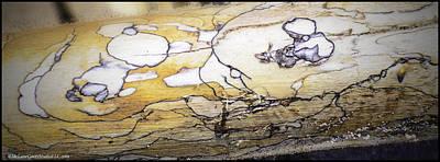 Images In Drift Wood Art Print