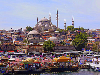 Photograph - Images Of Istanbul by Lou Ann Bagnall