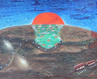 Painting - Imaginal Cells by Margarita Gokun
