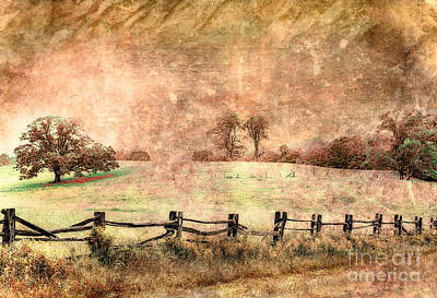 Commercial Design Mixed Media - Imaginary Morning On The Blue Ridge II by Dan Carmichael