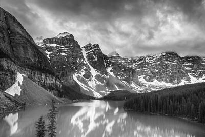 Moraine Lake Photograph - Imaginary Waters II by Jon Glaser