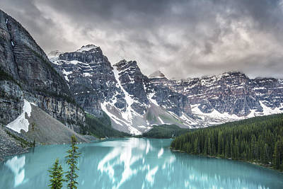 Mountain Range Photograph - Imaginary Waters by Jon Glaser