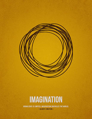 Minimal Drawing - Imagination by Aged Pixel