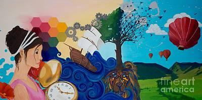 Imagination Liberated Original by Devan Gregori
