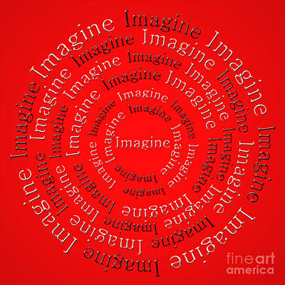 Digital Art - Imagine 1 by Andee Design