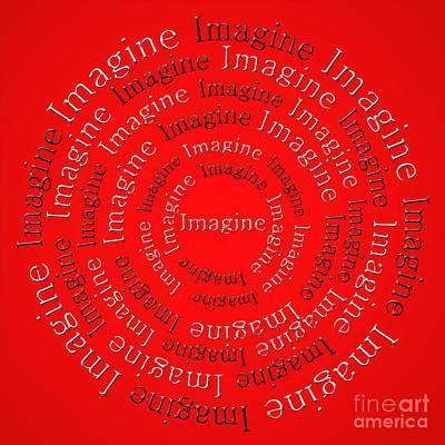 Digital Art - Imagine 1 by Andee Design