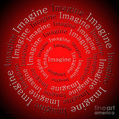 Digital Art - Imagine 2 by Andee Design