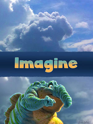Creature Digital Art - Imagine by Aaron Blaise