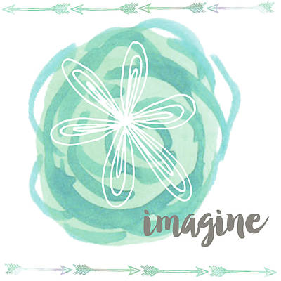Wall Art - Painting - Imagine by Katie Doucette
