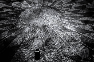 Print featuring the photograph Imagine - Strawberry Fields by James Howe