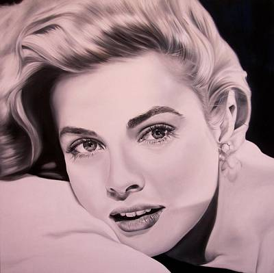 Grace Kelly Painting - I.m.d.l. by Ileana Di damaso