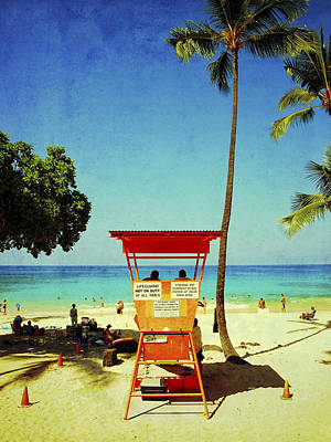Haleiwa Photograph - Lifeguards by Stacy Vosberg