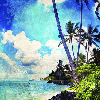 Haleiwa Photograph - Seawall Vintage by Stacy Vosberg