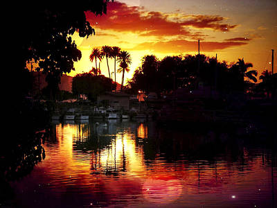 Haleiwa Photograph - Evening Reflections by Stacy Vosberg