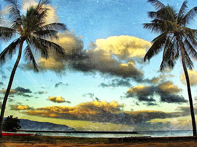 Haleiwa Photograph - Twin Palms Sunset by Stacy Vosberg