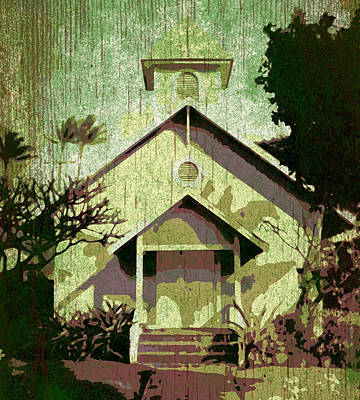 Haleiwa Photograph - Old Church by Stacy Vosberg