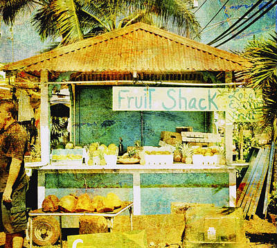 Haleiwa Photograph - Fruit Shack by Stacy Vosberg