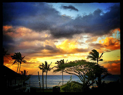 Haleiwa Photograph - Sunset Trades by Stacy Vosberg