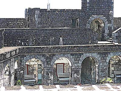 Photograph - Fort Brimstone, St Kitts/nevis by HEVi FineArt