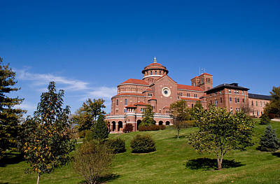 Indiana Landscapes Photograph - Immaculate Conception Monastery by Sandy Keeton