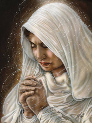 Dakota Painting - Immaculate Conception - Mothers Joy by Wayne Pruse
