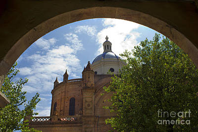 Immaculate Photograph - Immaculate Conception Under The Arch by Al Bourassa