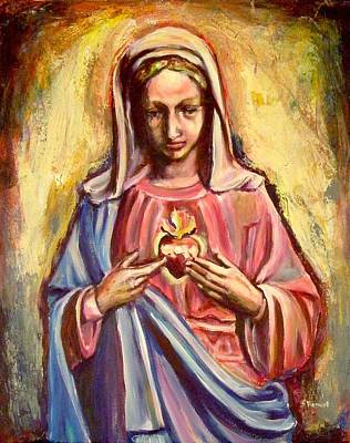 Immaculate Heart Art Print