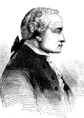 Immanuel Kant, German Philosopher Art Print by Bildagentur-online