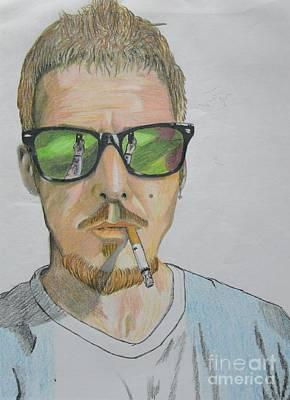 Self-portrait Mixed Media - Immatakeaselfie by John Foss