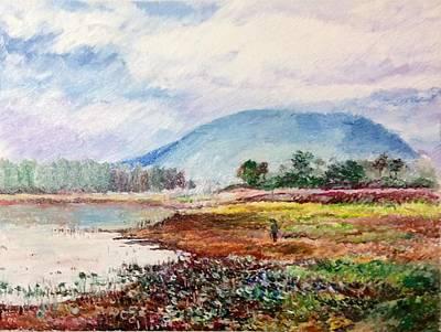 Painting - Immersed by Aditi Bhatt