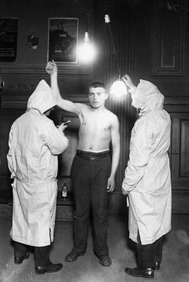 Photograph - Immigration Exam, 1921 by Granger