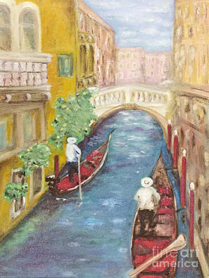 Painting - Immortal Venice by Barbara Anna Knauf